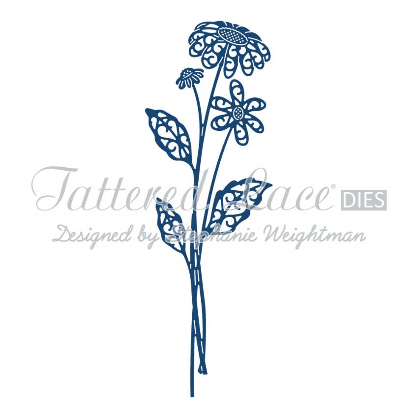 Tattered Lace Die Majestic Daisy - D662